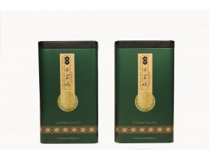 "Банка ""Желтая печать"" жестяная зеленая (200 гр)"