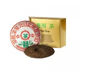 Китайский чай в упаковке банжан ван , 2001 года, 357 г