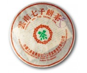 Бодрящий китайский чай юннань чи цзе бинг , 1997 года, 357 г