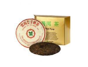 Шен Пуэр Юннаньский чи цзе бин ча, 1987 года, 357 г