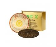 Чай пуэр многолетний юннаньский чи цзе бин ча, 1982 года, 357 г