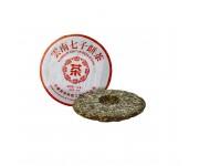 Чай пуэр многолетний чи цзе бинг ча серебристые пики 2006 года 357 г