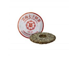 Белый Пуэр Чи Цзе Бинг Ча Серебристые пики 2006 года 357 г