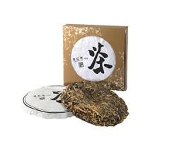 Красный чай Дянь Хун черносливовый прессованный 100 г