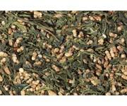 Китайский зеленый чай генмайча