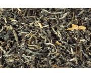 Китайский зеленый чай серебряный жасминовый пух