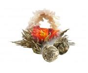 Китайский зеленый чай связанный чай лунный сад аромат жасмина