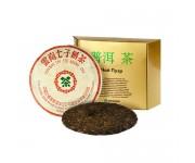 Китайский очищающий чай юннаньский чи цзе бин ча, 1987 года, 357 г