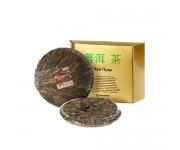 Китайский чай в подарочной упаковке в плитках белый (блин) 357 г