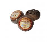 Китайский очищающий чай в мандарине