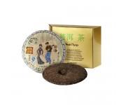 Прессованный чай пуэр в плитках №7, 357 г