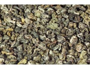 Зелёный чай Серебристые спирали