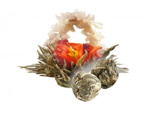 Связанный чай Лунный сад аромат жасмина