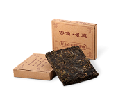 Пуэр кирпич юннаньский джинмэй ча, в плитках 50 г